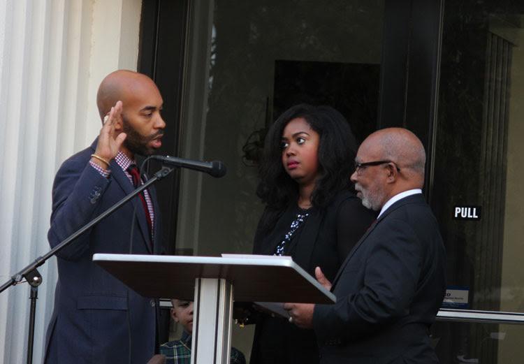 Fairfield's New Mayor and Council SwornIn
